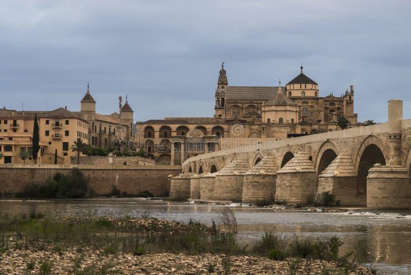 科多巴,西班牙都市风景  免版税库存照片
