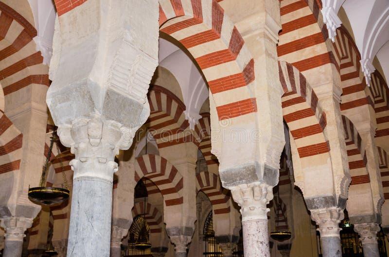 科多巴,西班牙- 5月3 :2014年5月3日的著名科多巴清真寺寸 库存图片