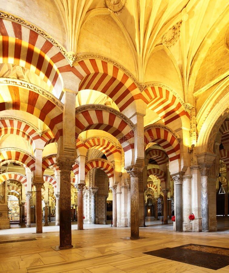 科多巴伟大的清真寺  免版税库存图片