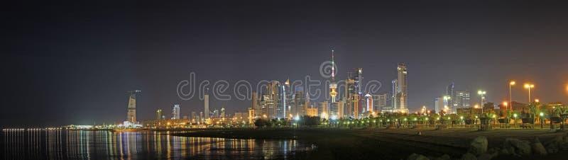 科威特地平线 库存照片