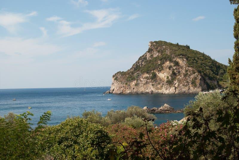 科孚岛海岛  库存图片