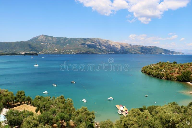 科孚岛风景 免版税图库摄影