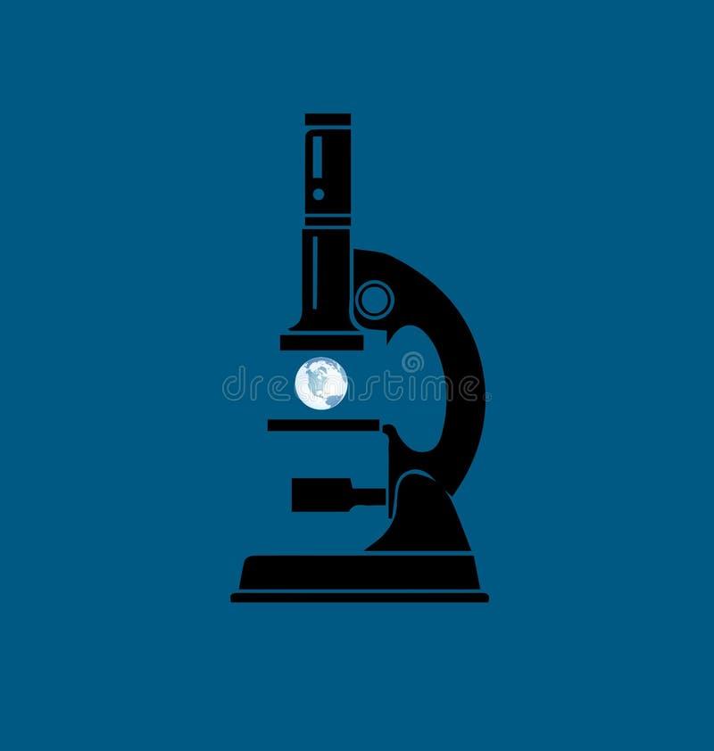 科学和和平 向量例证