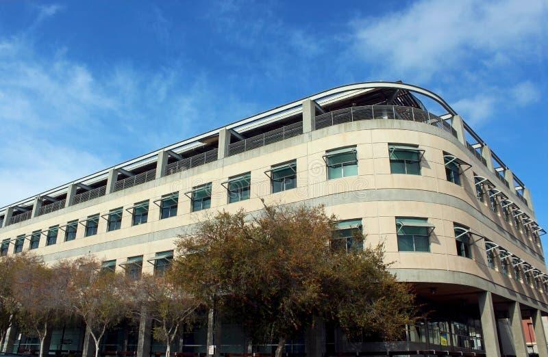科学和工程研究设施大厦,加州大学圣地亚哥分校 免版税库存图片