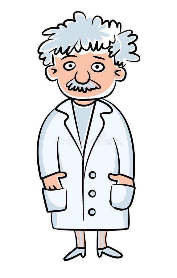 科学家 库存例证