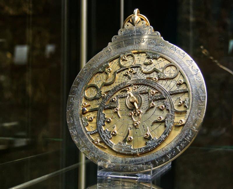 科学技术的历史的伊斯坦布尔博物馆在回教 库存照片
