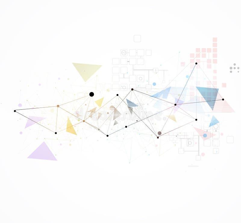 科学未来派互联网高计算机科技事务 免版税图库摄影