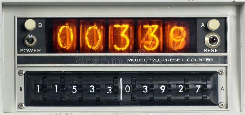 科学计数的机器 库存照片