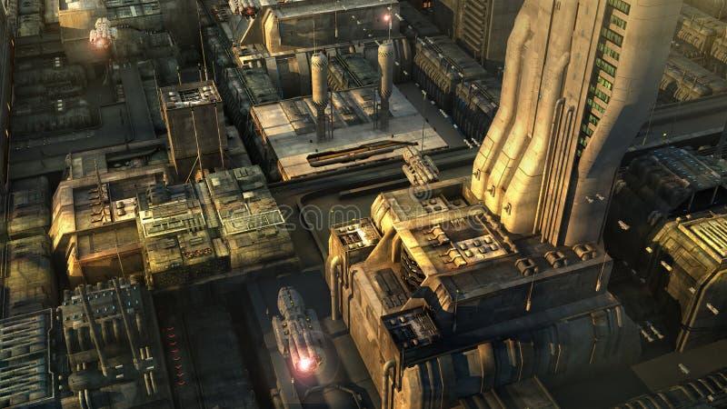 科学幻想小说城市