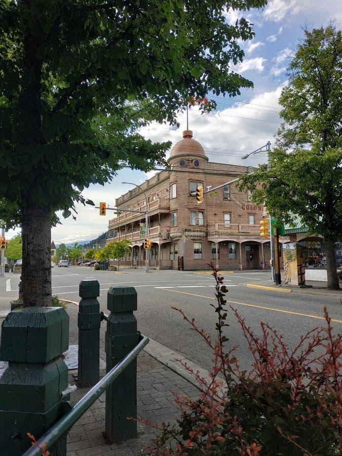 科尔德沃特旅馆在梅里特,BC,加拿大 库存照片