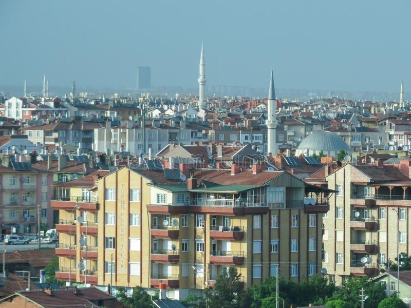科尼亚是一个城市在土耳其 Sufi神秘的实践的中心和其中一个朝圣的最重要的中心 免版税库存照片