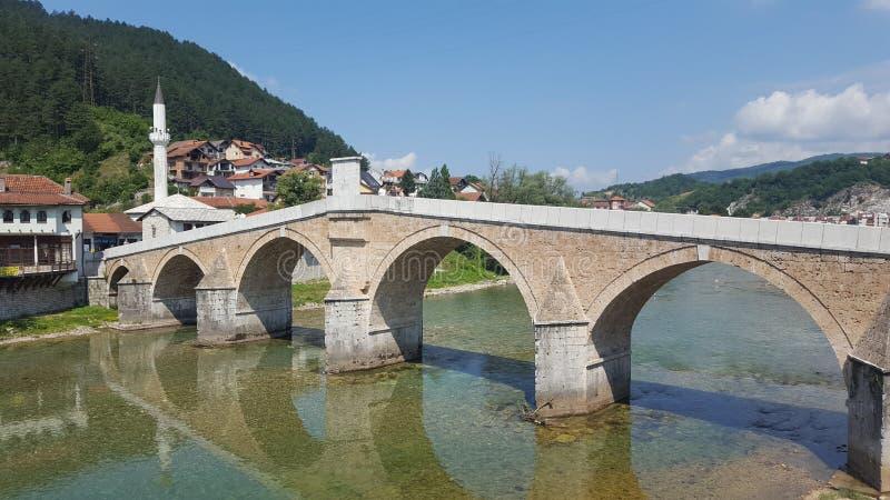 科尼茨老桥梁 库存图片