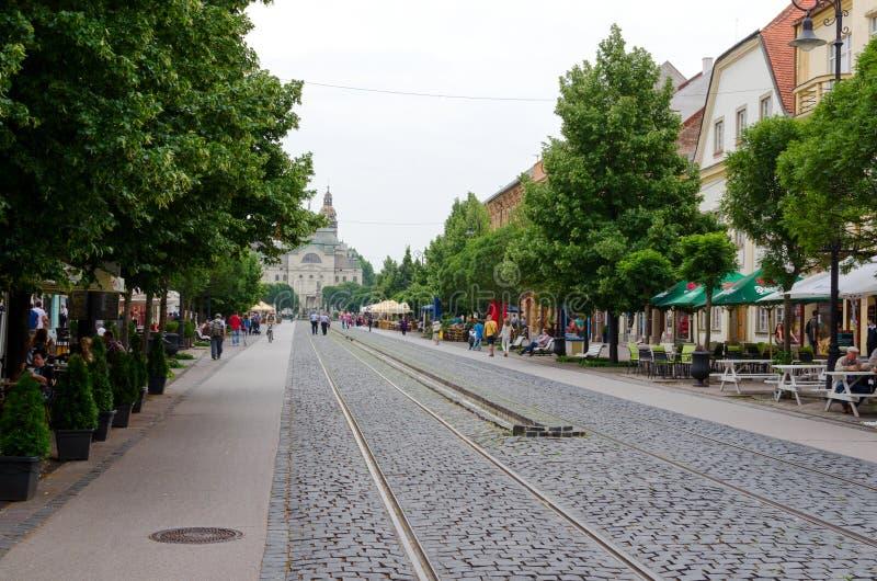 科希策,斯洛伐克, 2015年6月30日 图库摄影