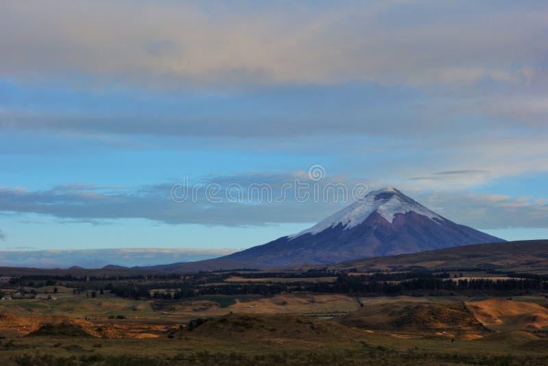 科托帕克西山,厄瓜多尔 免版税库存照片