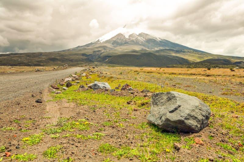 科托帕克西火山厄瓜多尔 免版税库存图片