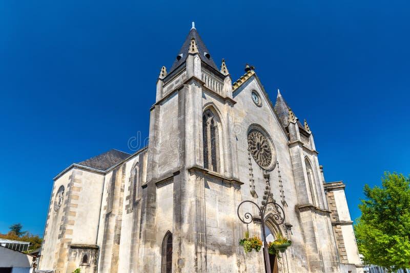 科涅克白兰地的,法国圣雅克教会 库存照片