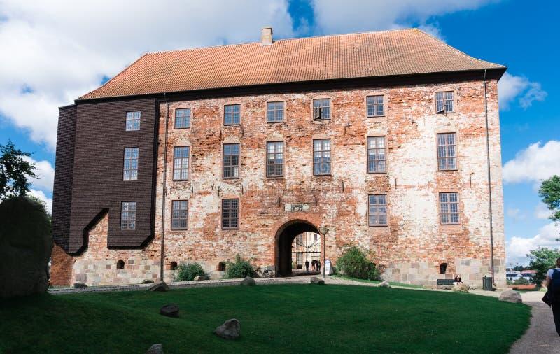 科灵Koldinghus城堡在丹麦 库存图片