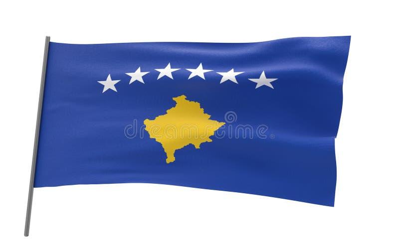 科索沃旗子  皇族释放例证