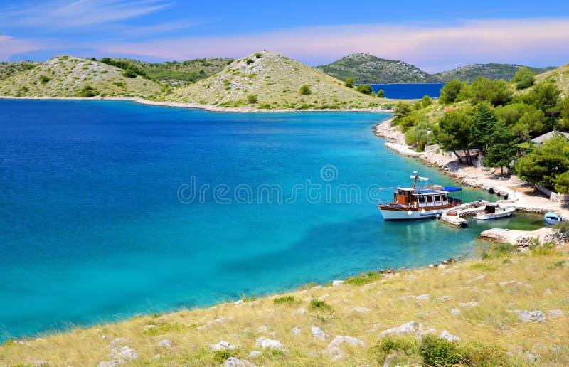 科纳提群岛海岛国家公园,克罗地亚 免版税图库摄影