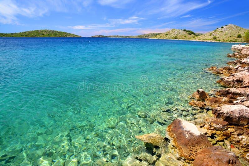 科纳提群岛海岛国家公园 克罗地亚 免版税库存照片