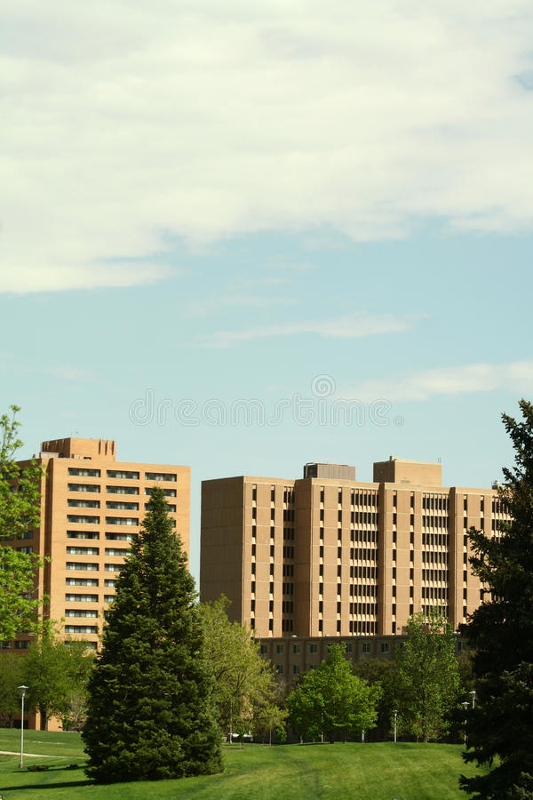 科罗拉多北大学 免版税库存图片