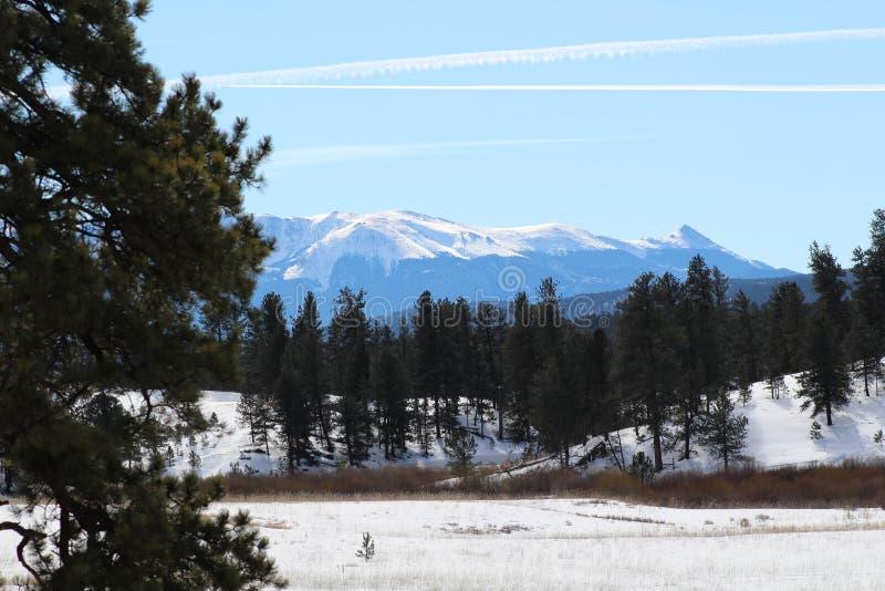 科罗拉多山 免版税图库摄影