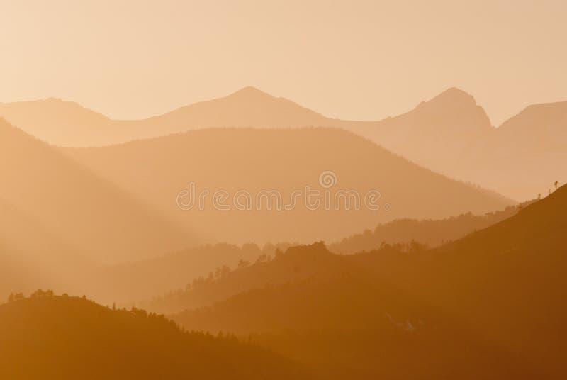科罗拉多日落 图库摄影