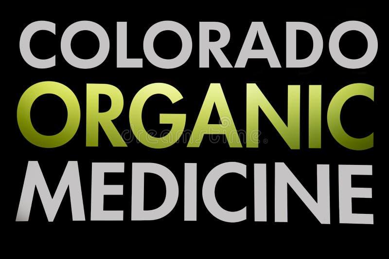 科罗拉多有机大麻医学 皇族释放例证