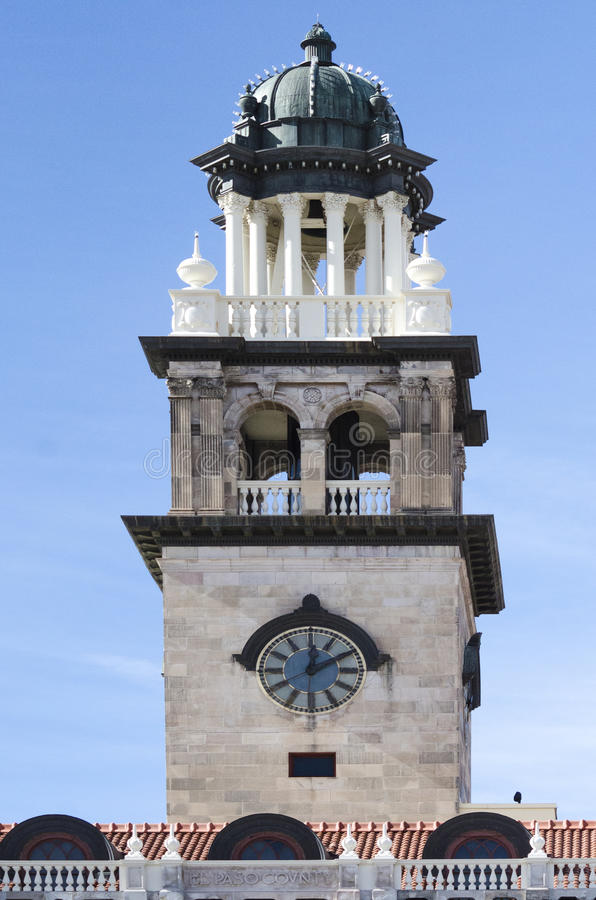 科罗拉多泉的建筑学作早期工作在博物馆 免版税库存照片
