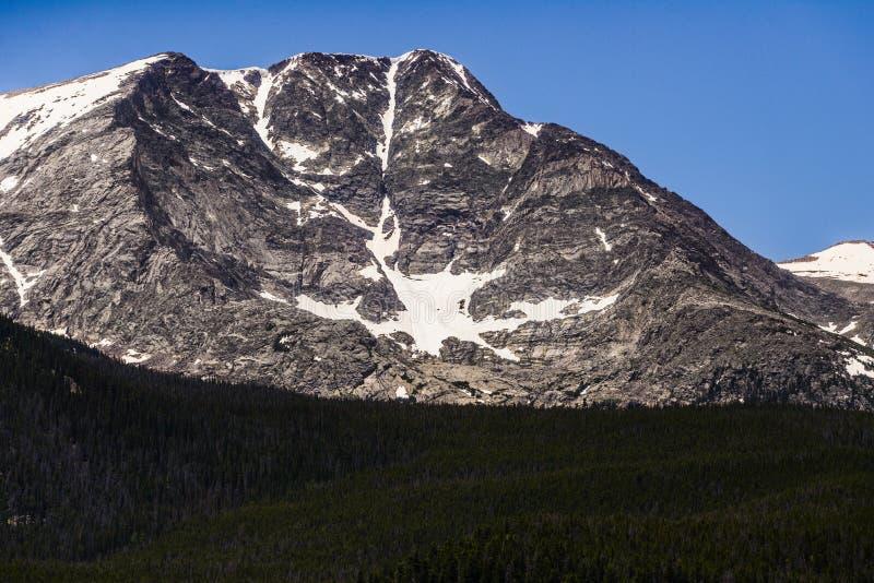 科罗拉多落矶山脉国家公园 库存图片