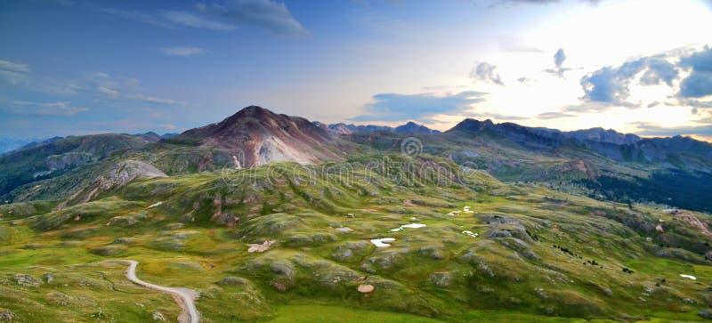 科罗拉多西部斜坡13,000英尺的 库存图片
