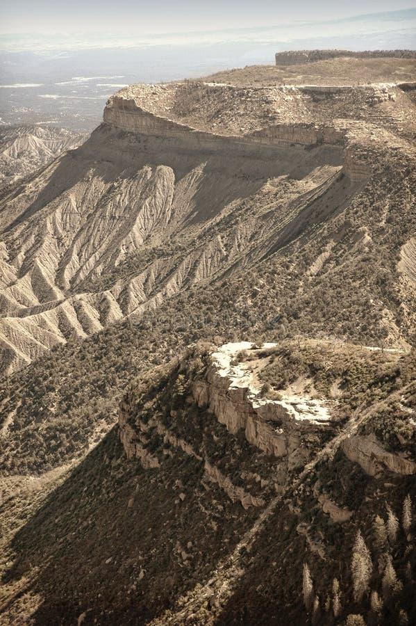 科罗拉多远景 免版税库存图片