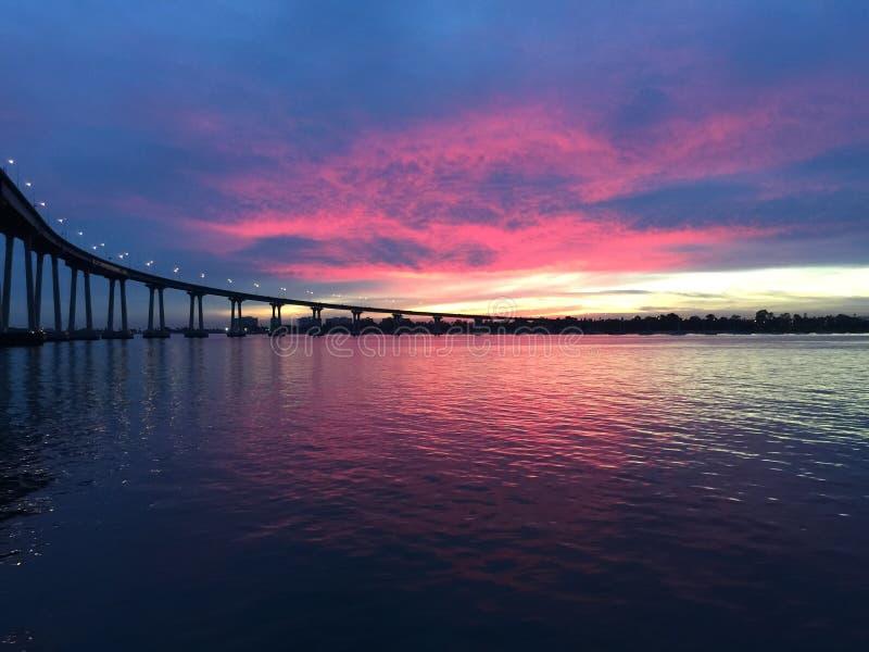 科罗纳多桥梁 免版税库存照片