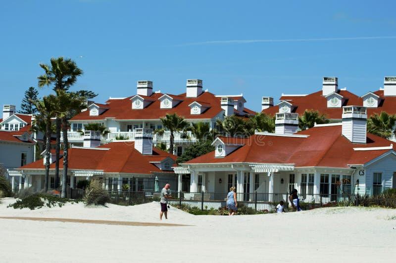 科罗纳多海滩 免版税图库摄影