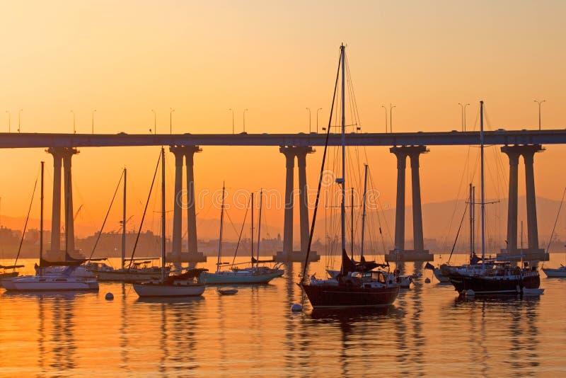 科罗纳多风船休息 图库摄影