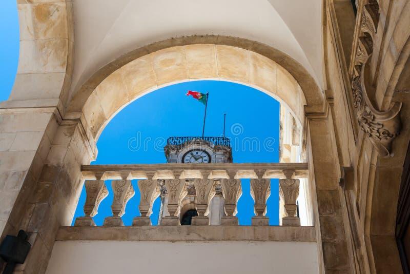 科英布拉大学是一所古老大学在葡萄牙 图库摄影