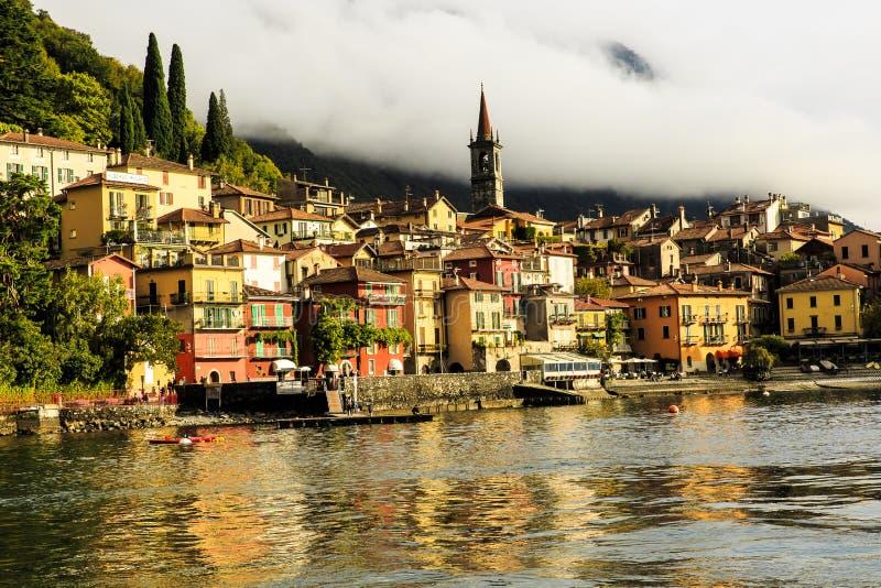 科莫湖的意大利贝拉焦 免版税图库摄影