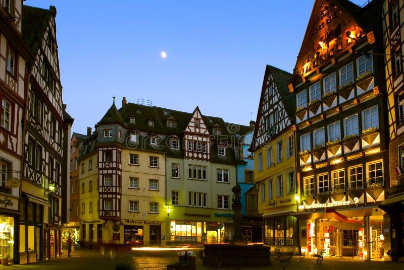 科赫姆镇在科赫姆,德国 免版税库存图片