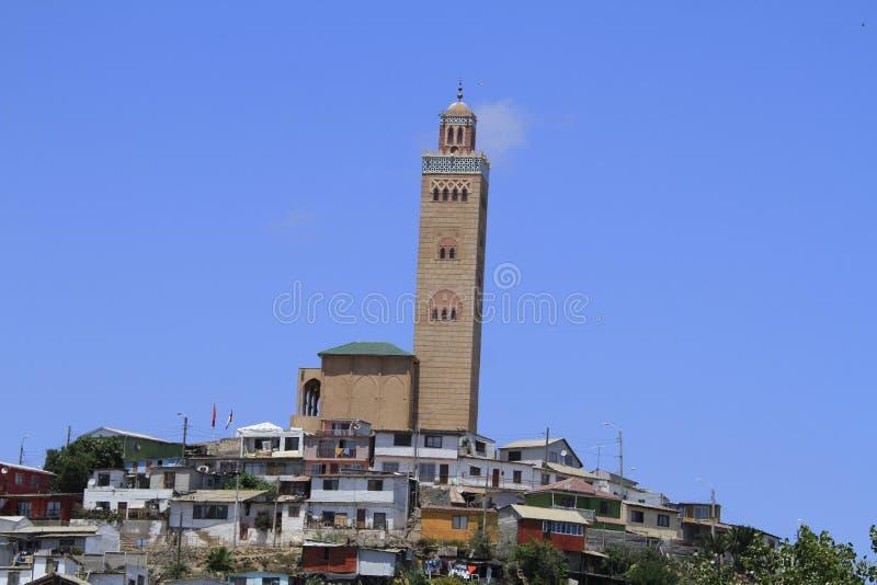 科金博的智利清真寺 免版税库存图片