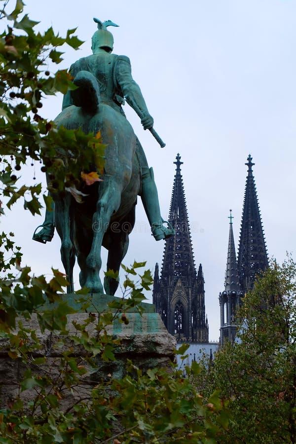 科隆主教座堂,科隆市,德国 库存照片