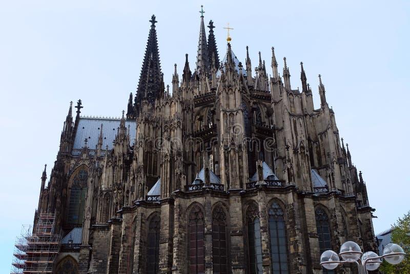 科隆主教座堂,科隆市,德国 图库摄影