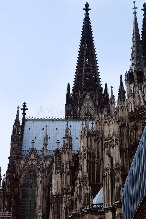 科隆主教座堂,科隆市,德国 库存图片