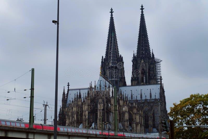 科隆主教座堂,科隆市,德国 免版税库存照片
