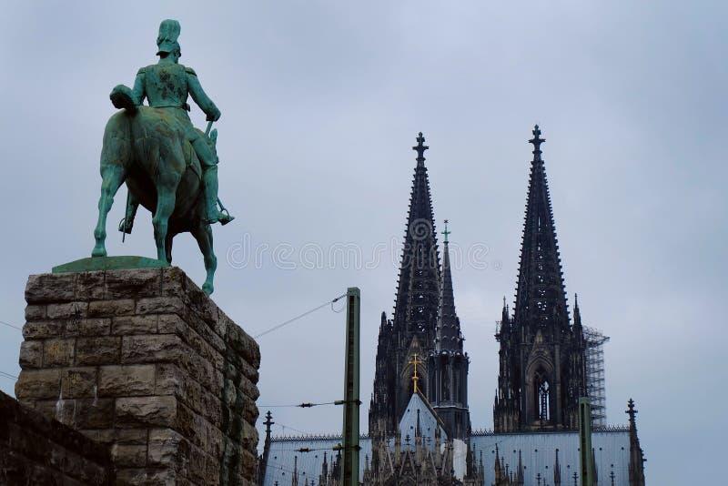 科隆主教座堂,科隆市,德国 免版税库存图片