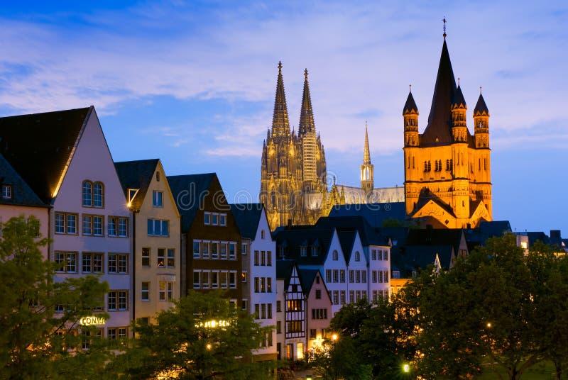 科隆大教堂或Kolner Dom在科隆/Koln,德国 库存图片