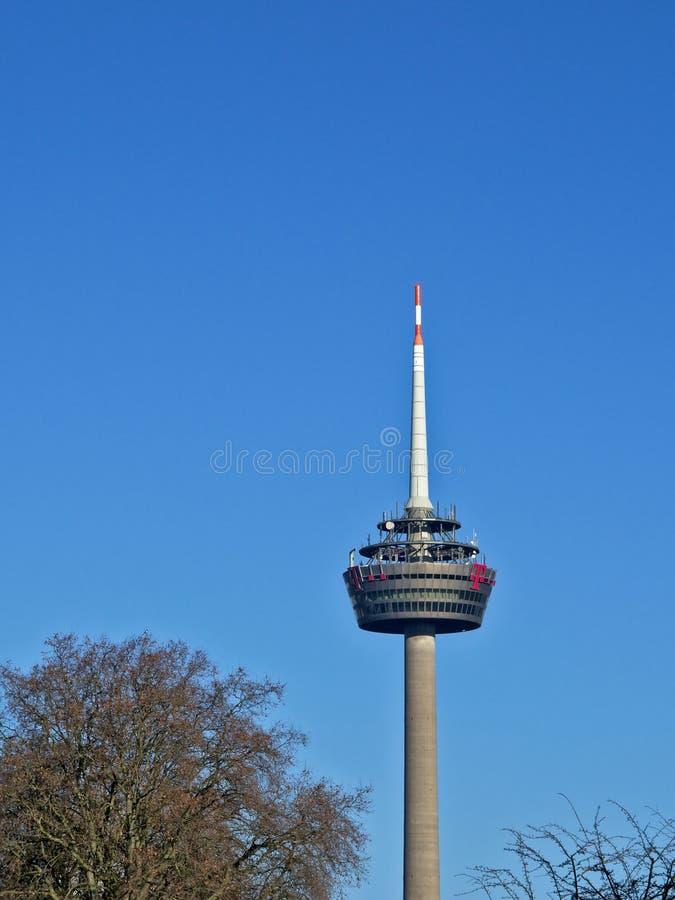 科隆无线电铁塔 库存图片