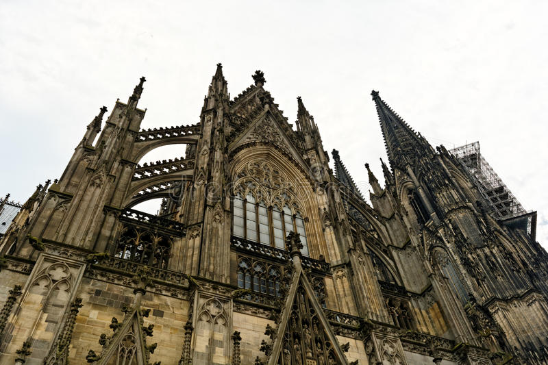 科隆CathedralGerman :Kölner Dom 库存照片