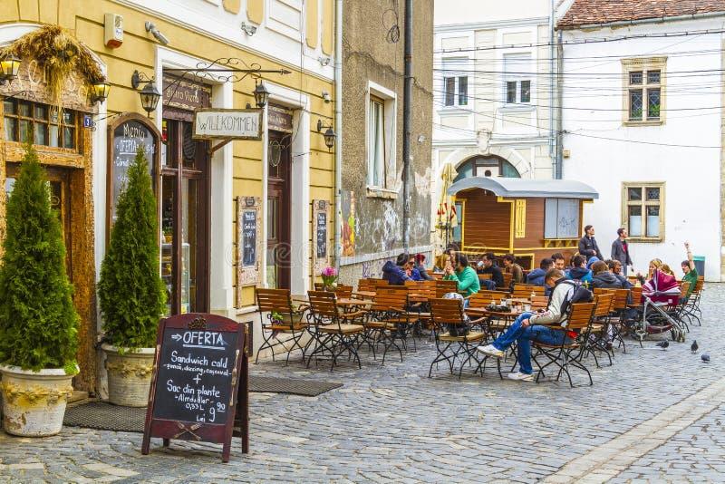 科鲁Napoca市 库存照片