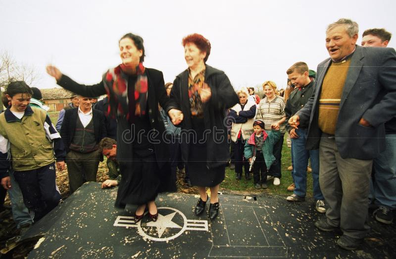 科索沃危机 免版税库存图片