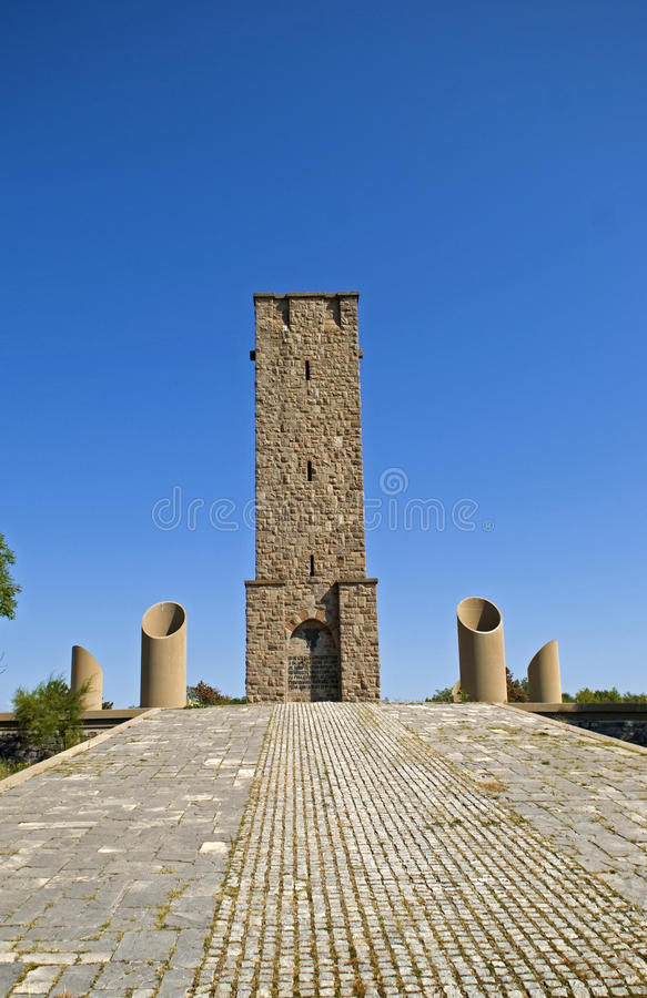 科索沃Polje战争纪念建筑,科索沃 库存图片